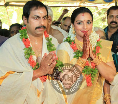 Swetha Menon Marriage Pictures