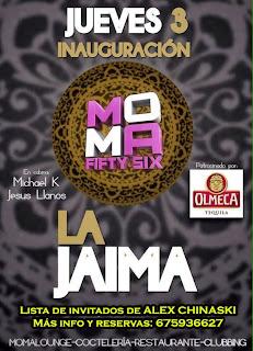 MOMA Fifty Six Jueves 3 de octubre