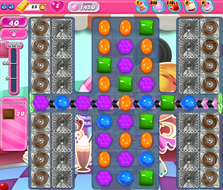 Candy Crush Saga 1450