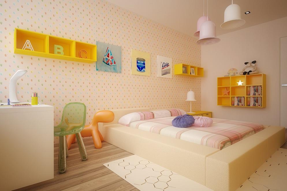 Colorful Kids Room Interior Decor Ideas Home Design