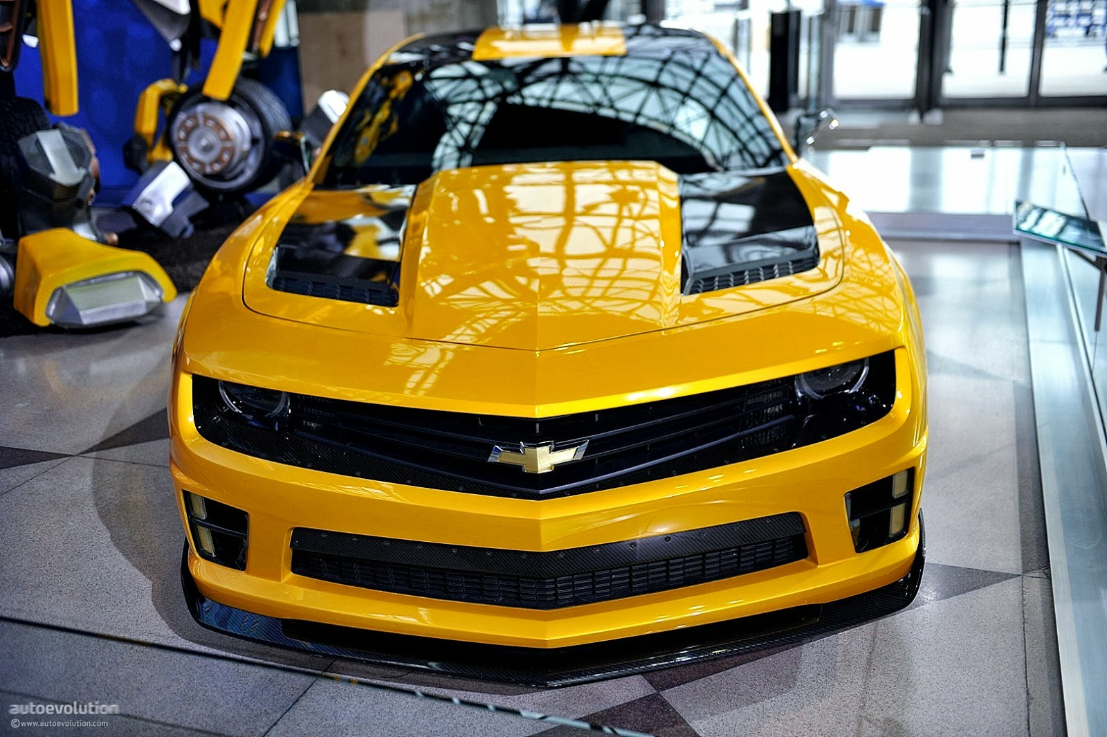 camaro bumblebee car images hd