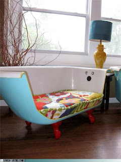 DIY recycled seat