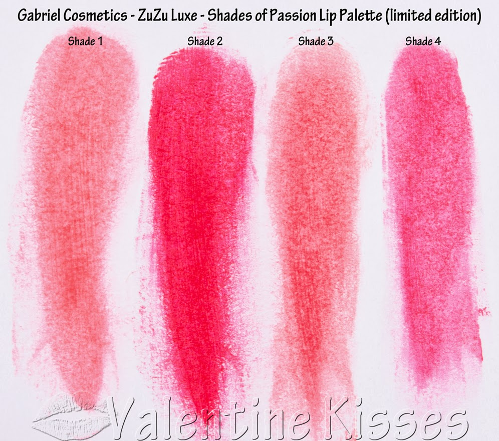 Zuzu Luxe Lipstick Swatches Pictures to Pin on Pinterest - PinsDaddy