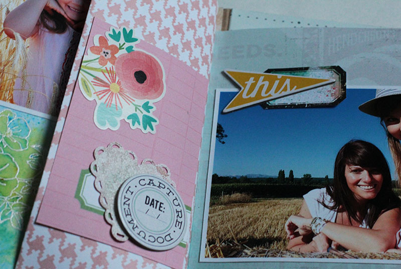 Crafting Ideas From Sizzix Uk Summer Mini Book By Karine
