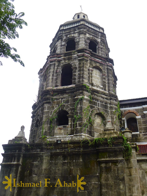 Old bell tower of Santa Ana Church, Manila