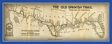 old spanish trail highway map