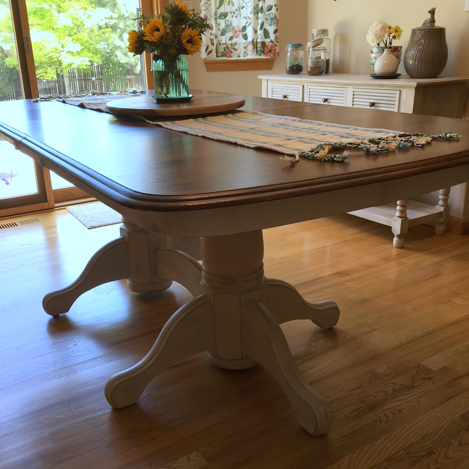 Refinish Kitchen Table...