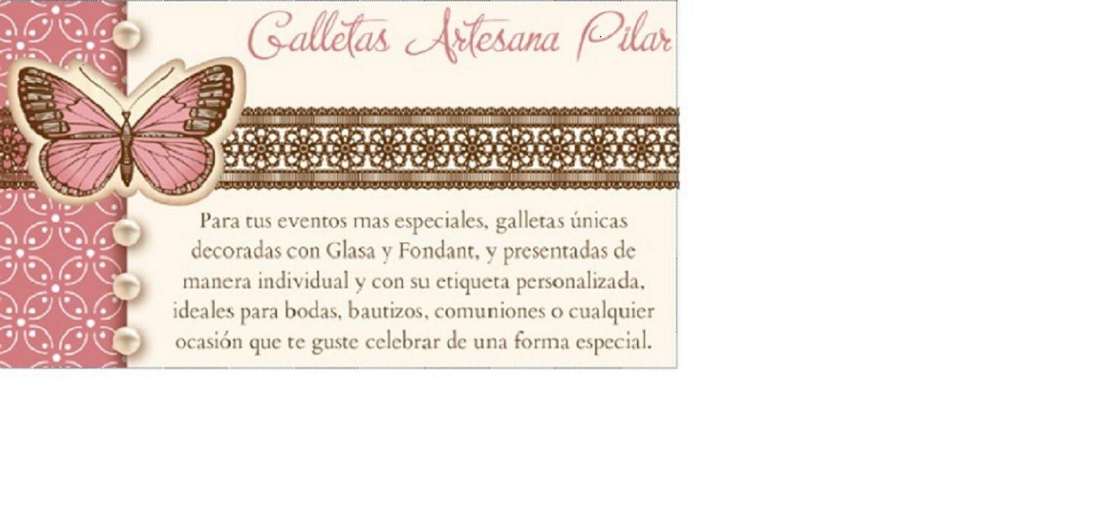 Galletas Artesanas Pilar