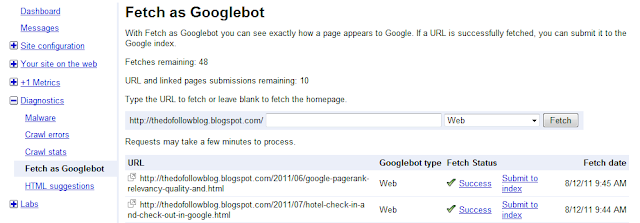 SEO Trivandrum Fetch as Googlebot