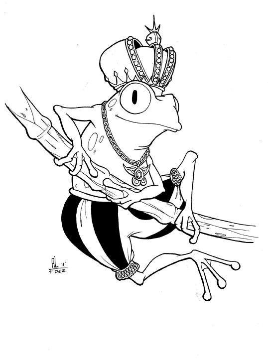 Los lápices de Ál: El principe Rana