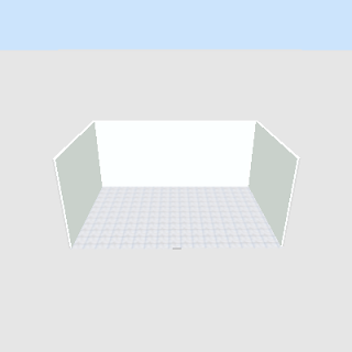 ruang kamar tidur minimalis tanpa furniture