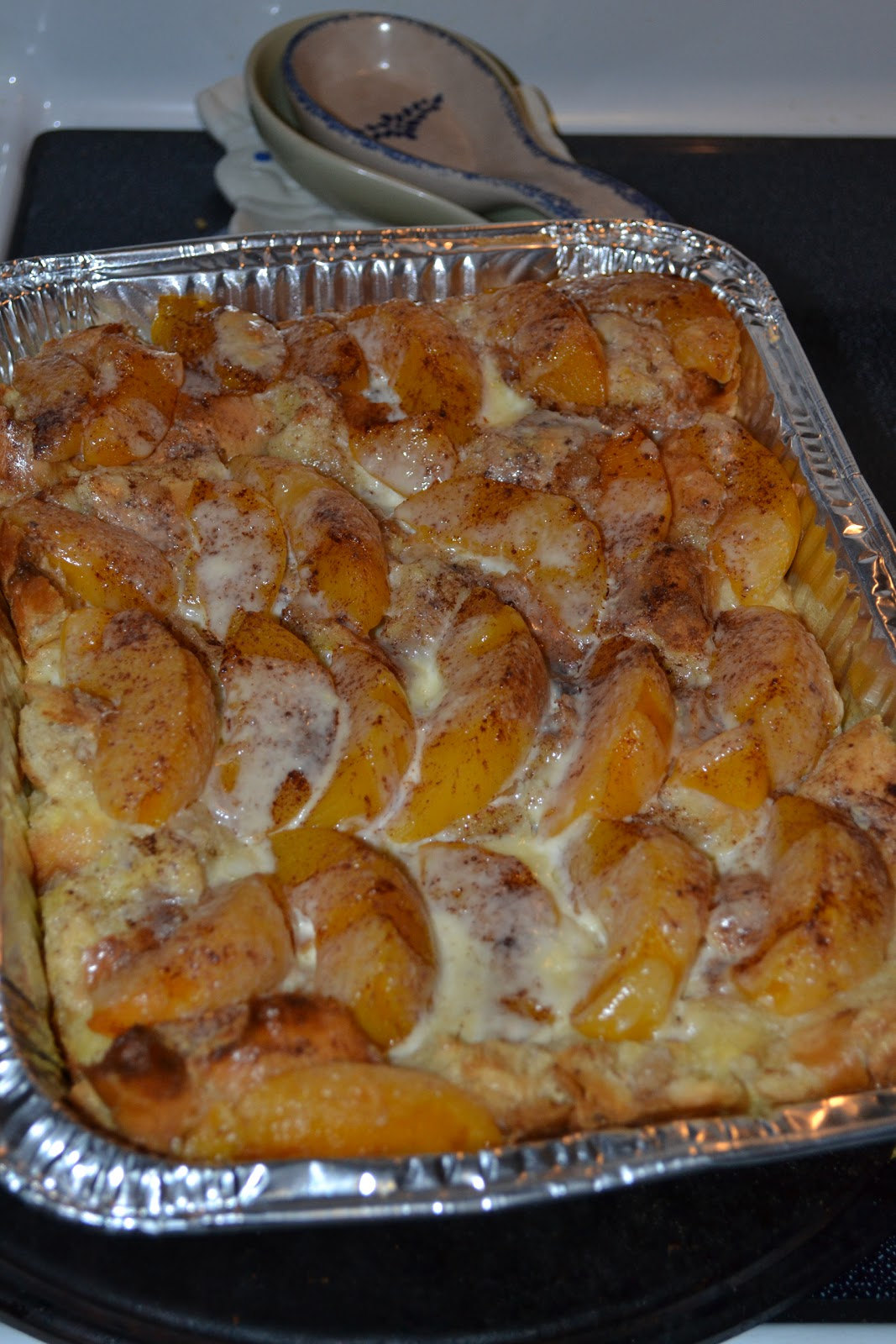 ... Tailgating Mama: Peaches and Cream Overnight French Toast Casserole