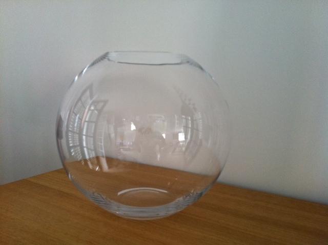 Amaryllis and you location de mat riel for Vase aquarium rond