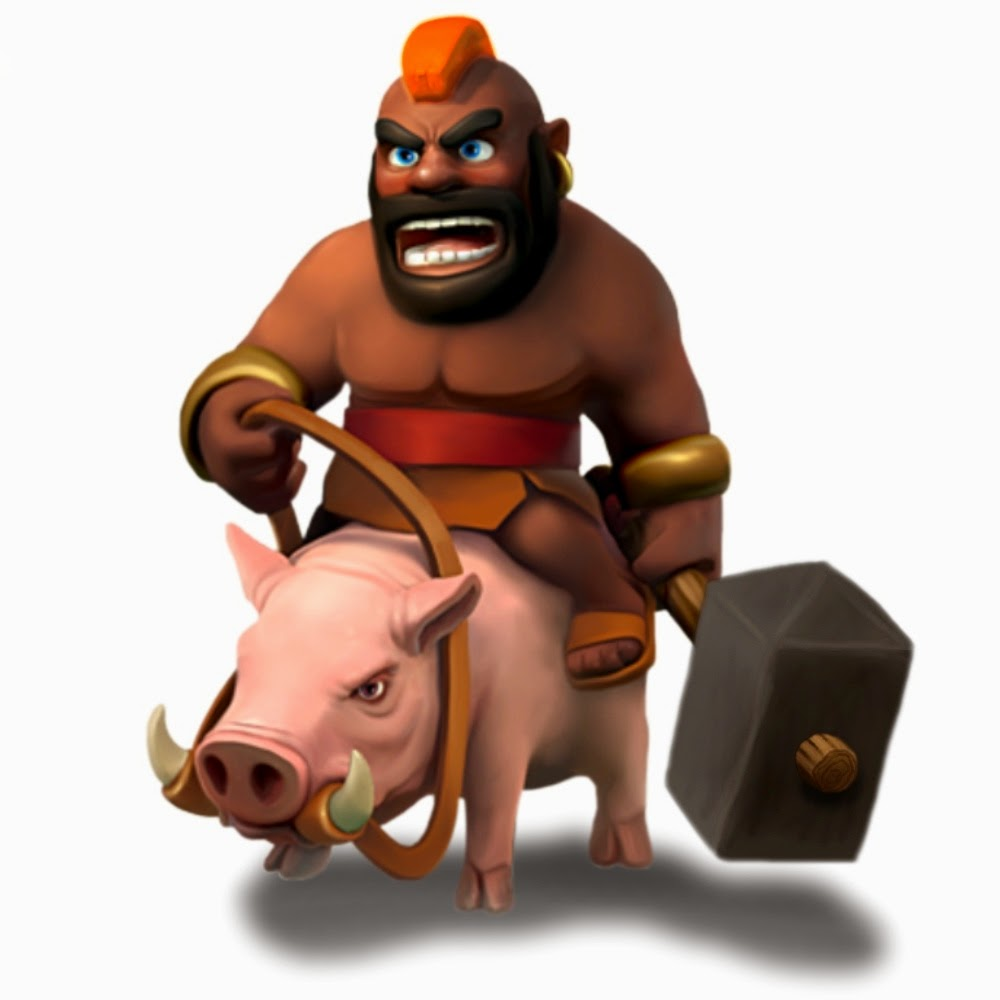 Indo gang clash of clans hog strategy