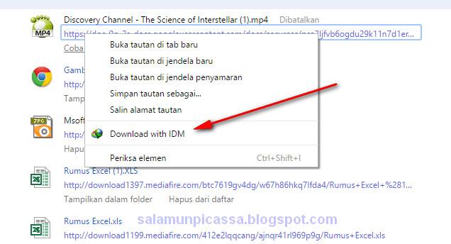Cara Download File di Google Drive dengan IDM