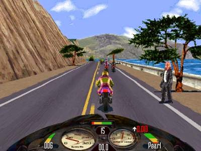 Road Rash Game racing