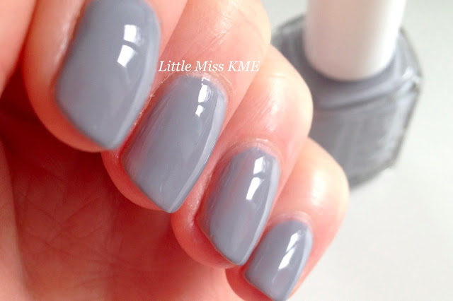 nail polish, essie, blue, grey