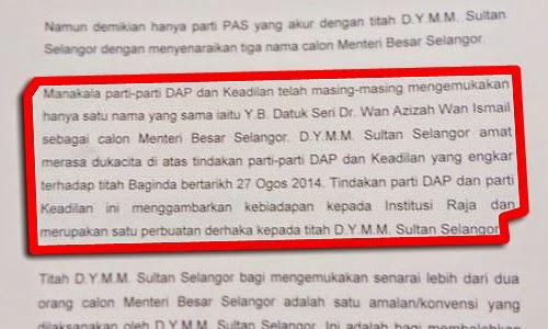 PKR dan DAP biadap derhaka kata Istana