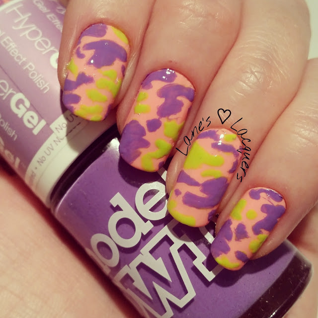 40-great-nail-art-ideas-orange-purple-green-camouflage-manicure (2)