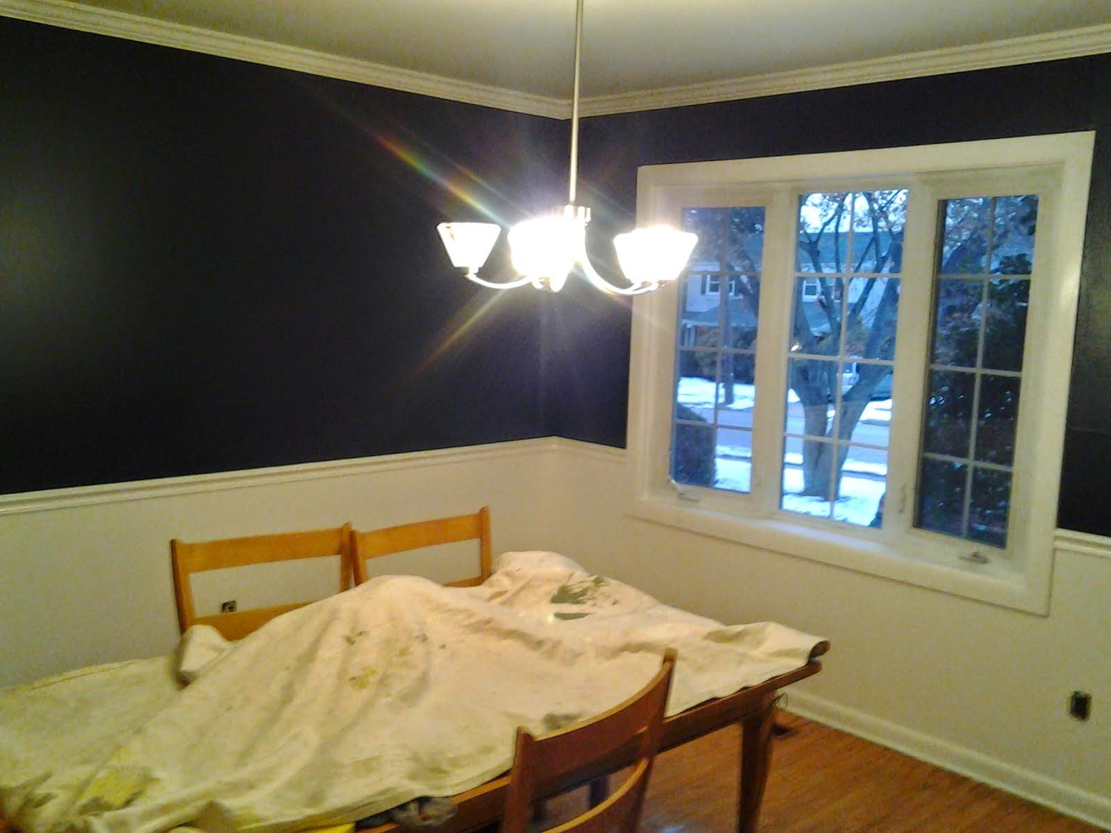 Painted Dinning Room