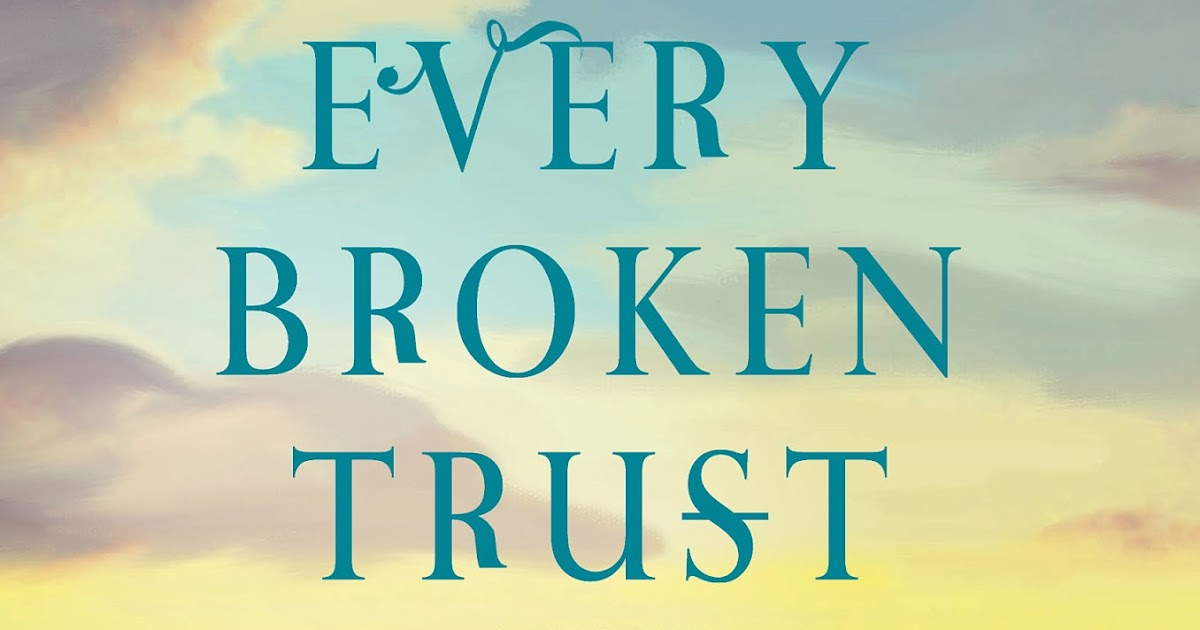 La Bloga New Book Every Broken Trust By Linda Rodriguez The Interview