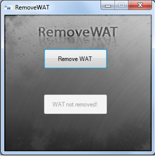 Remove on Luasoft  Remove Wat