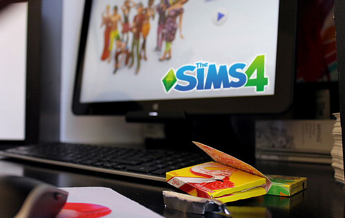 Gra your copy of #TheSIMS4 at Walmart and jump into even weirder stories. #CollectiveBias #shop
