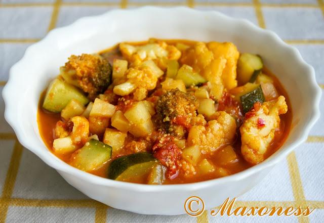 Овощное карри от Гордона Рамзи. Индийская кухня