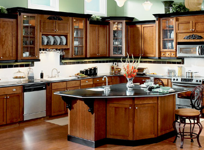 Brown Kitchen Design Ideas