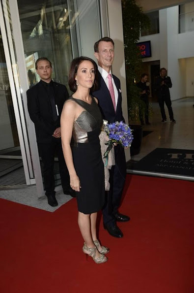 Princess Mary and Prince Frederik, Princess Marie and Prince Joachim attends the parliament and government's celebration of the 100th Anniversary of the 1915 danish constitution at the Tivoli hotel and Convention center
