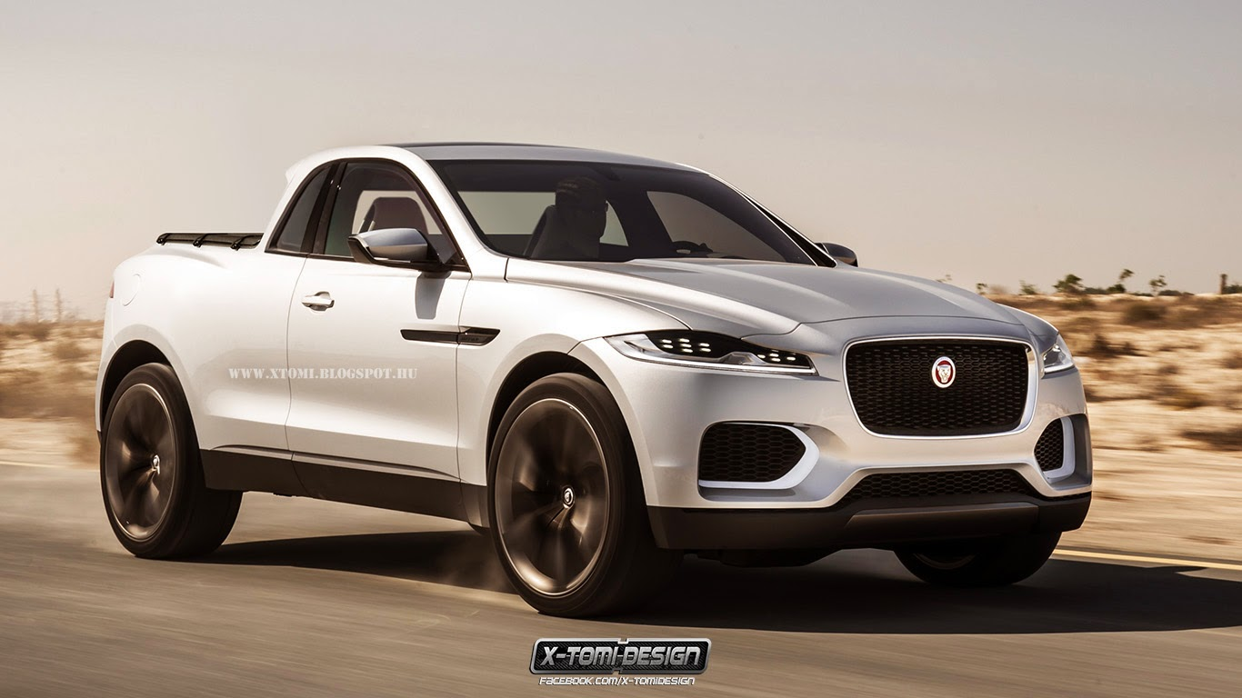 X-Tomi Design: Jaguar C-X17 Pickup