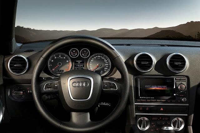 2011 Audi A3 Cabriolet Interior Front
