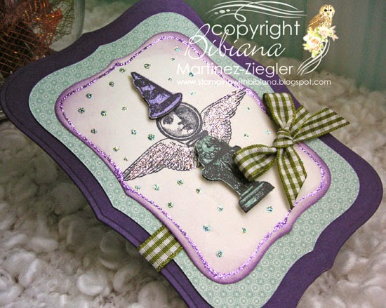 lost coast designs stamps mini flying lady birthday flat view