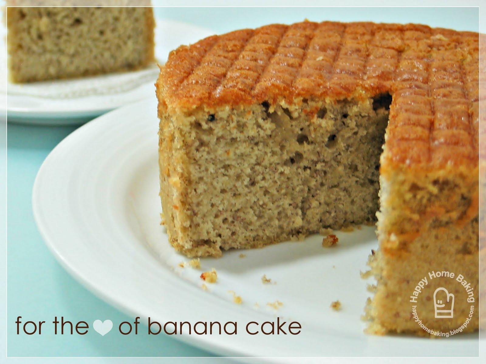 Moist Banana Bundt Cake