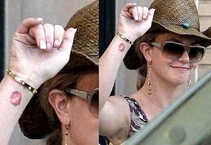 Britney Spears Tattoo 03jpg