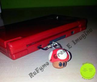 Seta Mario hecha con Fimo