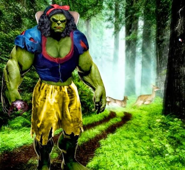 Hulk Blancanieves