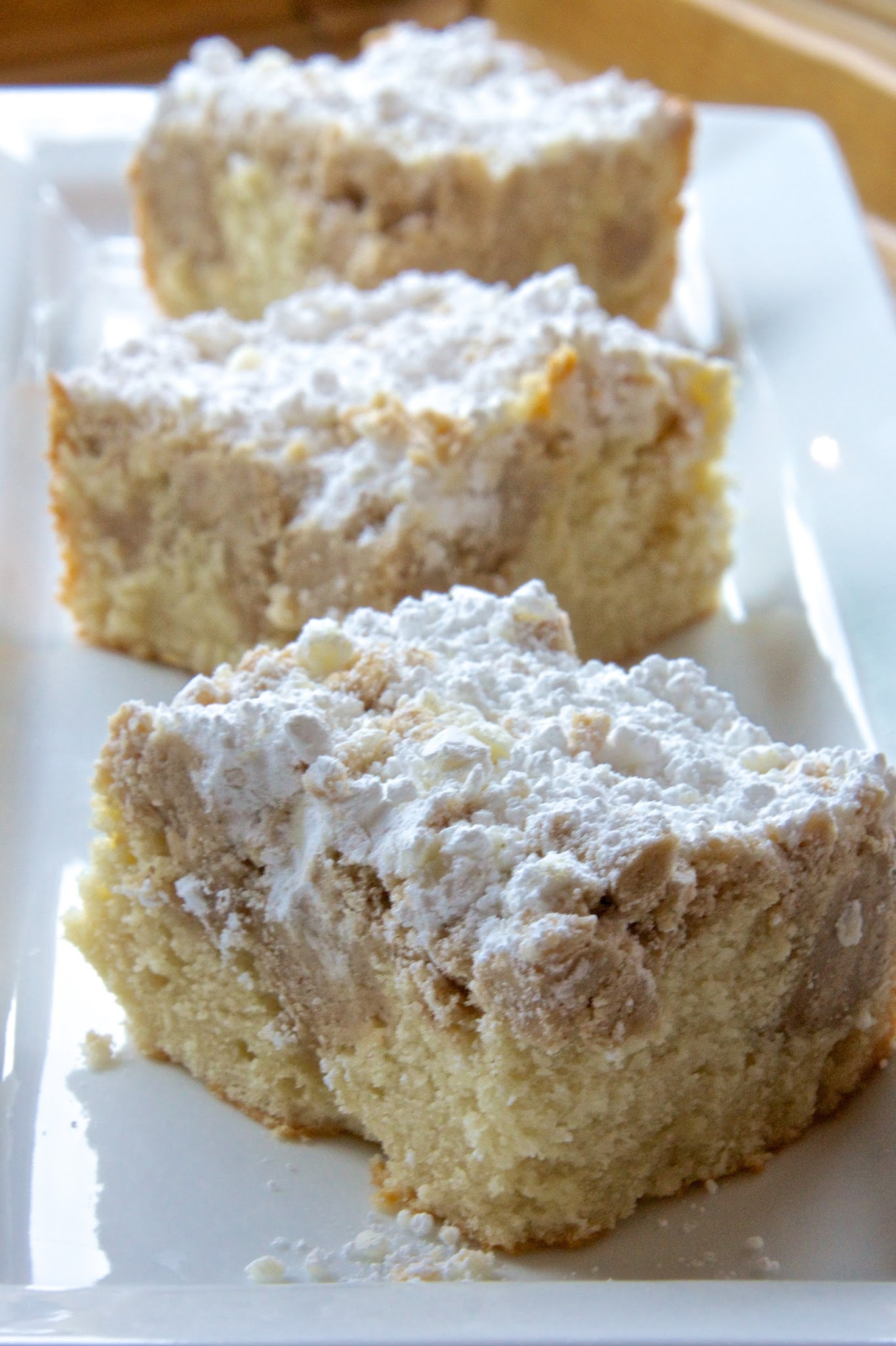 New York Crumb Coffee Cake
