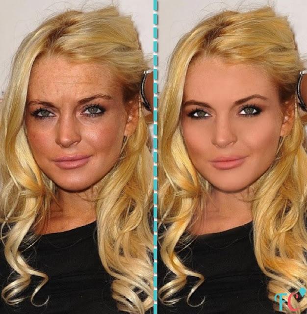 Lindsay-Lohan smill face