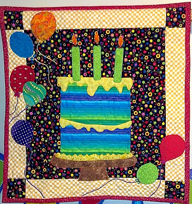 The Quilting Alleycat: Happy Birthday Louie