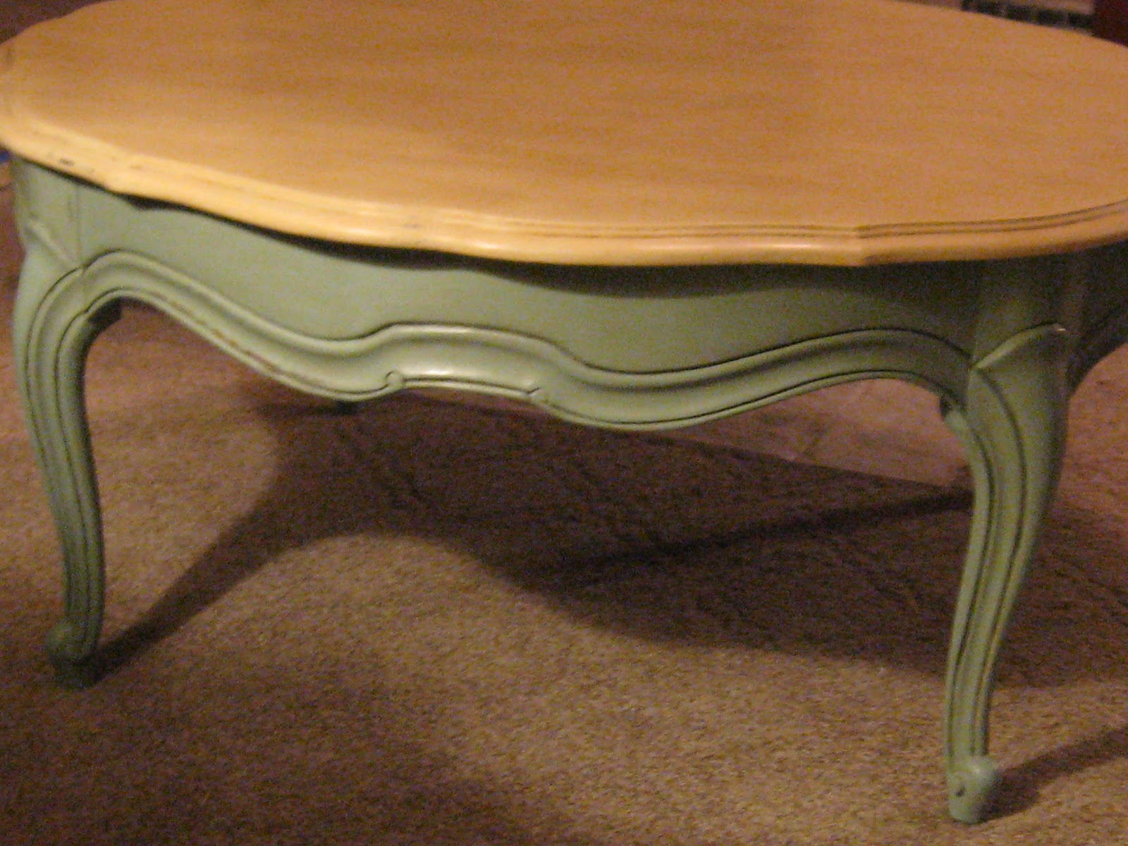 Sacred Heart Design Annie Sloan Chalk Paint Coffee Table