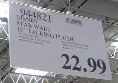 Deal for the Disney Star Wars 15-inch Talking Plush at Costco
