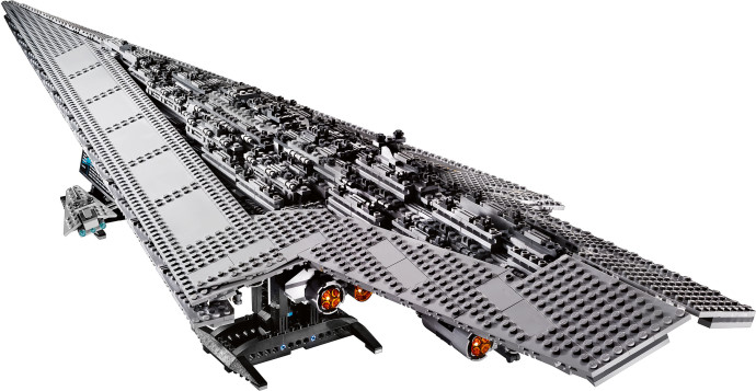 Legoreve super star destroyer lego 10221 - Vaisseau dark vador ...