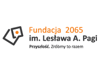 Logo Fundacji 2065 im. Lesława A. Pagi
