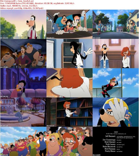 Goofy La Pelicula 1 y 2 [DVDRip] Español Latino [Descarga 1 Link]