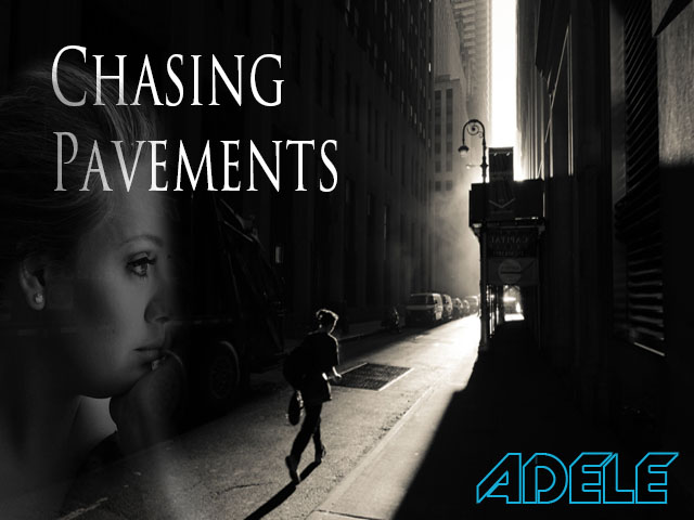 Chasing Pavements - Adele | Music Letter Notation with Lyrics for ...