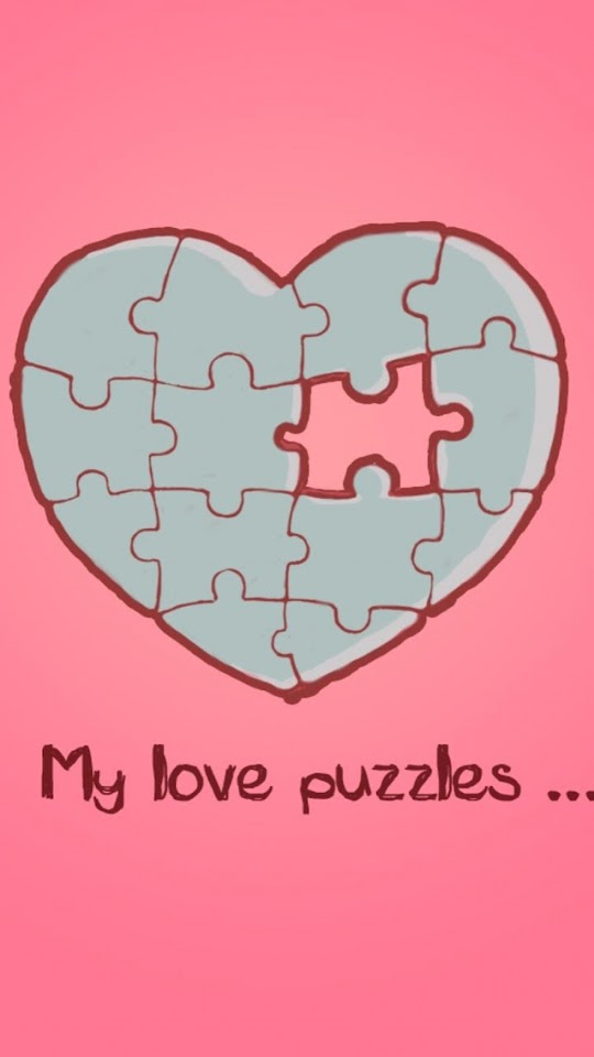 My Love Puzzles   Galaxy Note HD Wallpaper