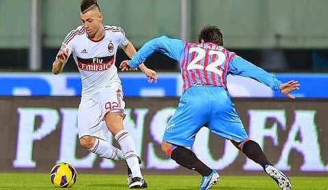AC Milan vs Catania