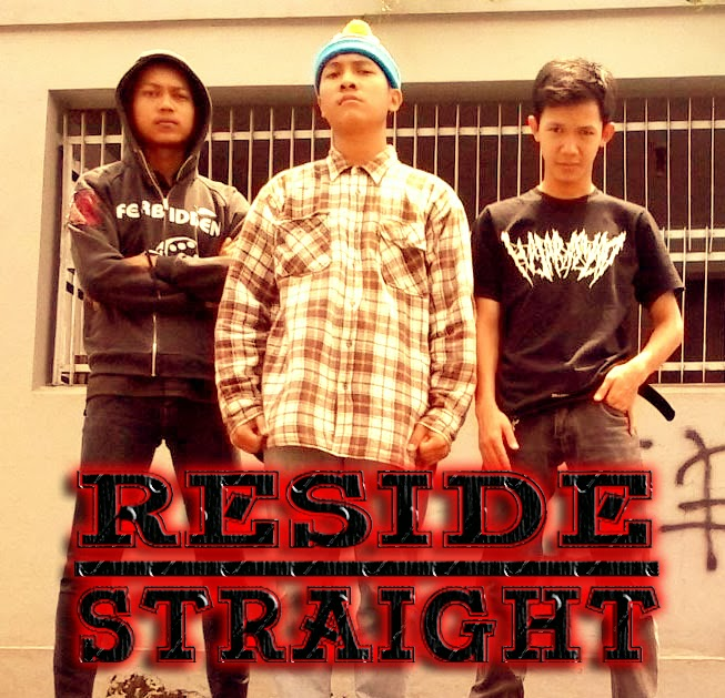 Reside Straight Band Hardcore Rancah - Ciamis Foto Personil Logo Wallpaper