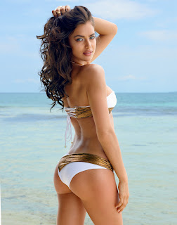 Irina Shayk Sexy Hot Beach Bunny Signature Bikinis Hot Must SEE Ass Cleavages